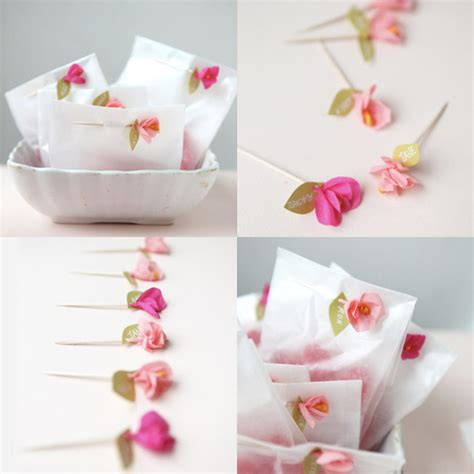 How To Make Mini Paper Flowers - mini crepe flowers elephantine