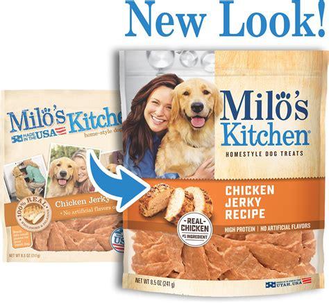 milo s kitchen milo s kitchen chicken recipe treats 8 5 oz bag chewy
