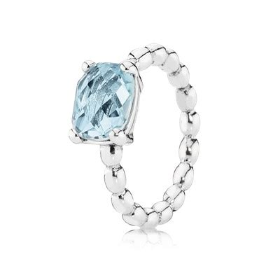 Cool Breeze, Blue Topaz   190869BTP   Rings   PANDORA