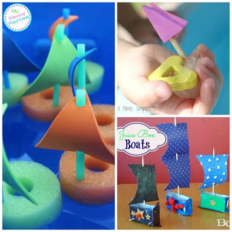 boat crafts for that float 15 boat crafts for planning playtime