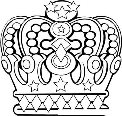 corona de rey de puro oro para pintar y colorear