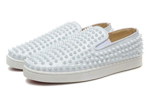 christian louboutin mens white sneakers christian louboutin mens white sneakers louboutin shoes