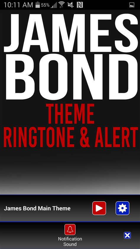 english themes ringtones james bond theme ringtone amazon ca appstore for android