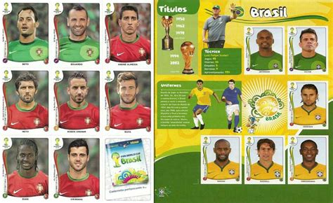 Panini Cards Sticker Album by Panini World Cup 2014 Official Sticker Album Complete
