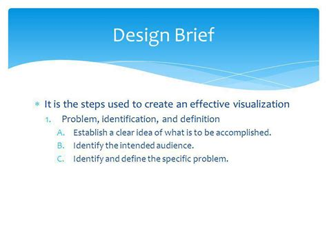 design brief steps lumberton high school sci vis i v ppt video online download