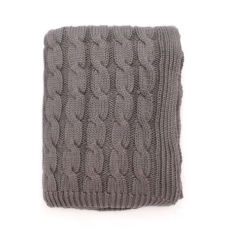 large cable knit blanket the grey large cable knit throw cable warm bedroom and grey