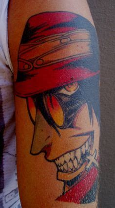 hellsing tattoo anime sleeve sleeve tattoos by