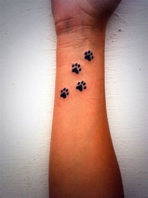 small paw print tattoos looking for a paw print tattoos beautiful
