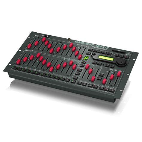 console eclairage behringer lc2412 eurolight console d 201 clairage