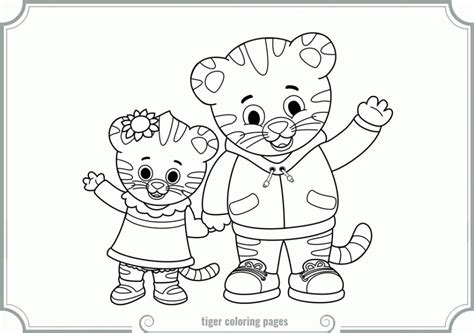 daniel tiger coloring pages daniel tiger free colouring pages