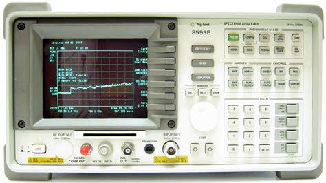 HP Agilent Keysight, 8593E Electromagnetic Pulse