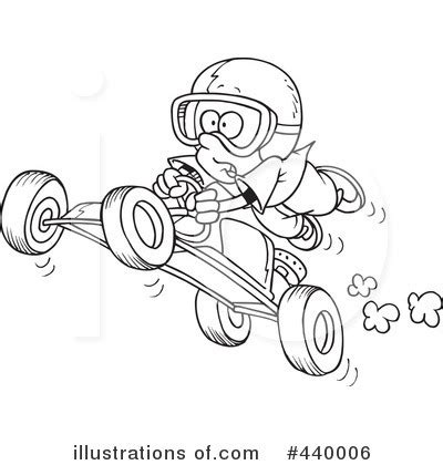 go kart clipart #440006 illustration by toonaday