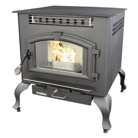 shop us stove company 2000 sq ft multi fuel stove at lowes