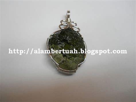 Sodalite Necklace Kalung Batu Alam alam bertuah shop moldavite batu meteor hijau