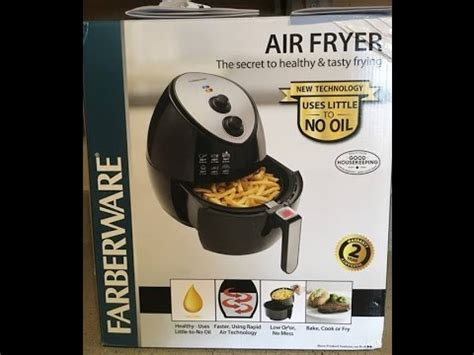 farberware air fryer  review youtube