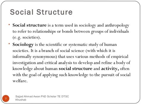 the structure of social a study in social theory with special reference to a of recent european writers classic reprint books education social structure and development by sajjad awan