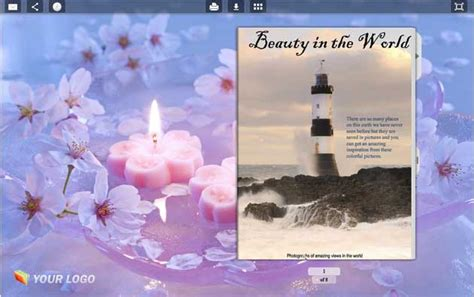 book themes for windows 7 page flip book template candle style full windows 7