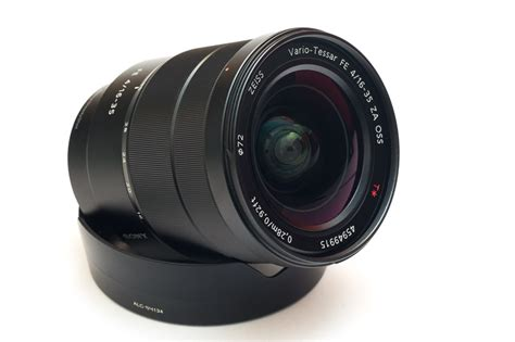 Sony Zeiss Vario Tessar T Fe 16 35mm F 4 Za Oss sony vario tessar t fe 16 35mm f 4 za oss lens sel1635z uu 27242884205 ebay