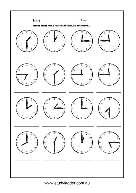 free printable quarter past worksheets maths worksheets time quarter past grade 2 telling time