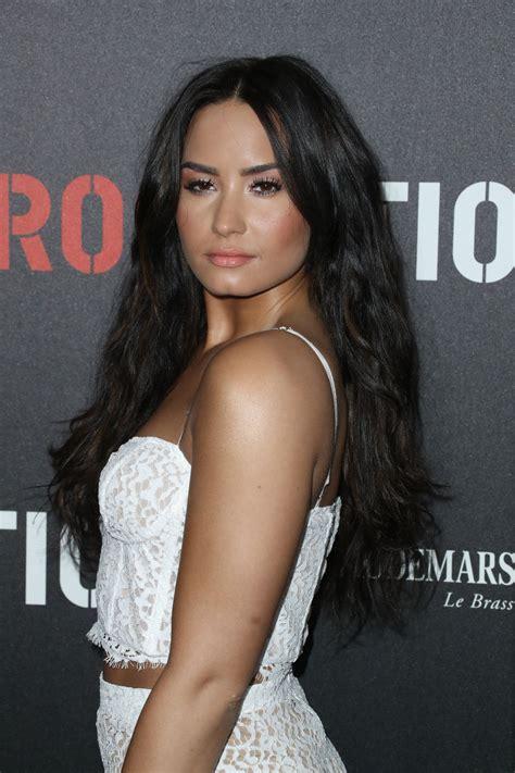 Is Demi Nation by Demi Lovato Demilovato Roc Nation Pre Grammy Brunch In