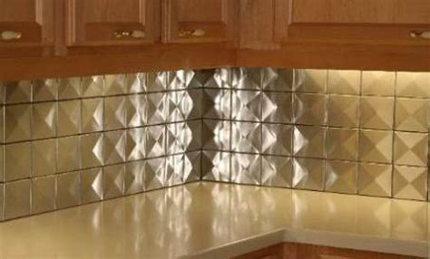 5sf 4 quot x4 quot 3d stainless steel metal backsplash wall tiles made in the usa ebay