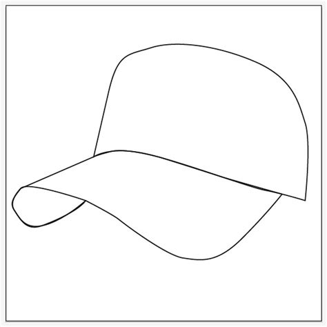 baseball hat template how to draw a baseball cap illustrator templates