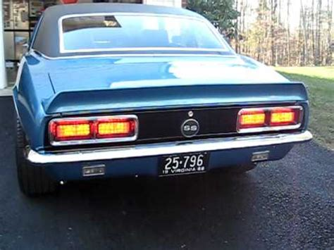 digitails sequential led tail lights 1968 rs camaro youtube