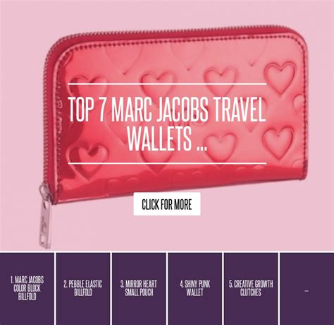 Marc By Marc Dot Travel Wallet by Top 7 Marc Travel Wallets Fashion