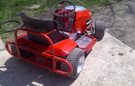 racing lawnmower princess auto