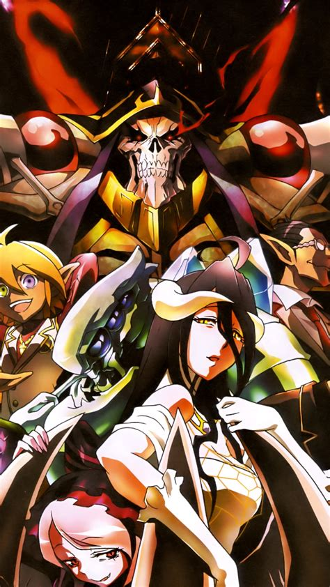 overlord anime wallpaper android overlord magic thl w8 wallpaper 1080x1920