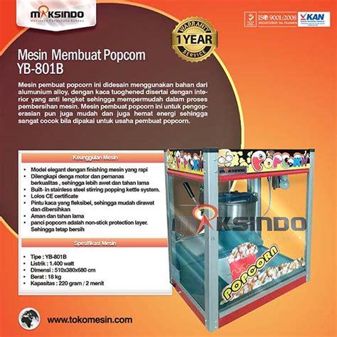 Mesin Pembuat Pop Corn Pop Corn Machine mesin popcorn untuk membuat popcorn terbaru toko mesin