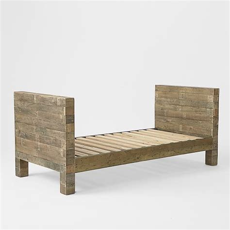 west elm day bed emmerson reclaimed wood daybed natural west elm