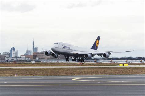 exklusive wandlen boeing 747 8 treffen bei der lufthansa ein
