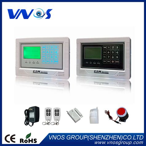 wireless wired alarm systems security home lcd speaker