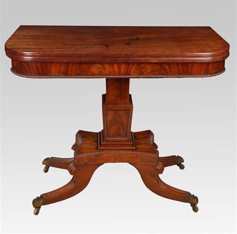 a regency mahogany tea table antiques atlas