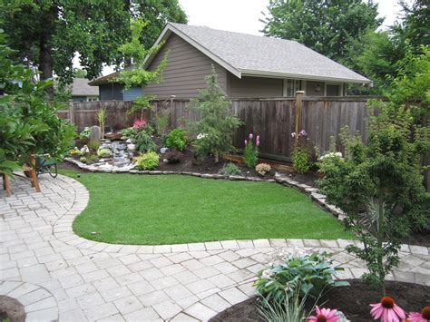 landscaping ideas for a small backyard small backyard makeover srp enterprises weblog