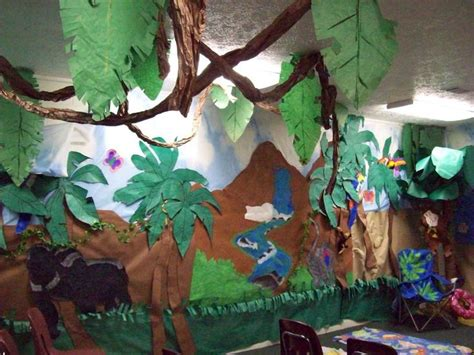 jungle theme classroom jungle theme classroom decorating - Jungle Theme Decoration Ideas