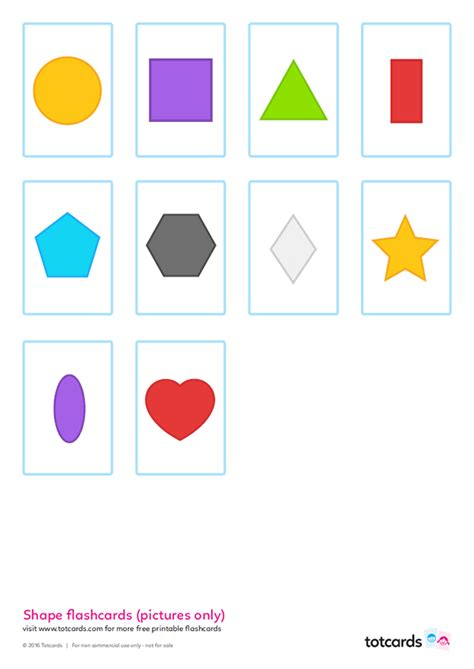 shape flash cards templater free shape flashcards for totcards