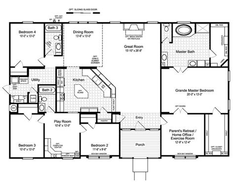 open floor plans with a view 25 best ideas about home floor plans on pinterest house