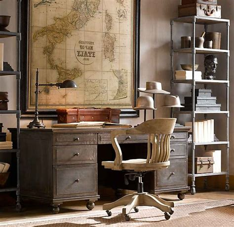 Vintage Desks For Home Office with 21 New Vintage Home Office Furniture Yvotube