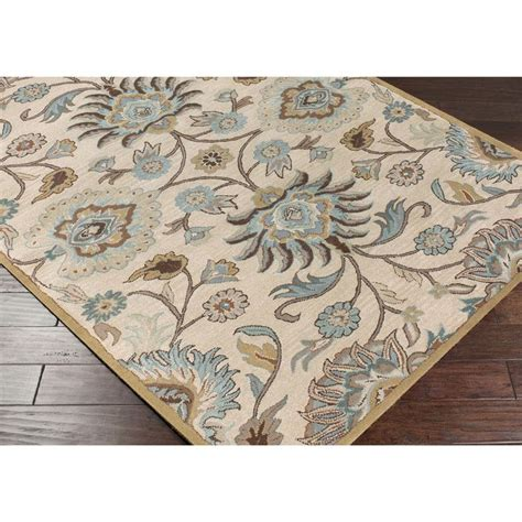 Ivory Wool Rug 8 X 10 by Tufted Amanda Ivory Wool Rug 8 X 10