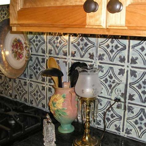 vintage kitchen tile backsplash 75 best images about tin backsplashes on pinterest