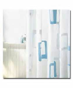 White And Blue Shower Curtain by Blue And White Cube Shower Curtain Review Compare