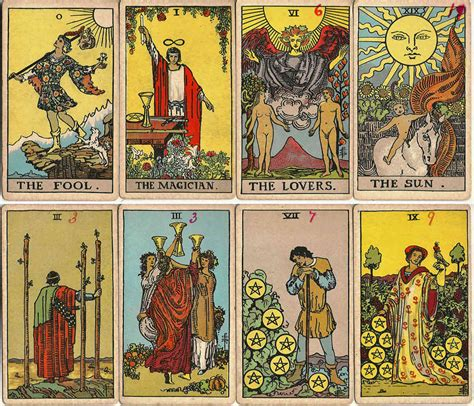 el tarot de rider waite punt magic