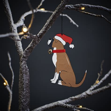 boxer dog christmas tree decoration 163 7 95 mischievous