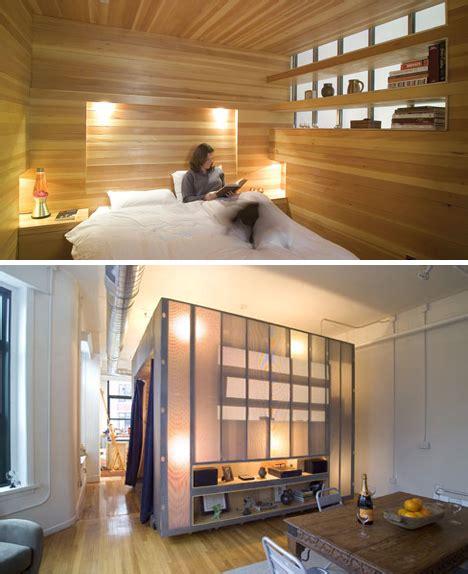 Room In A Box Interior Design room in a box saving interior space via bedroom cubes