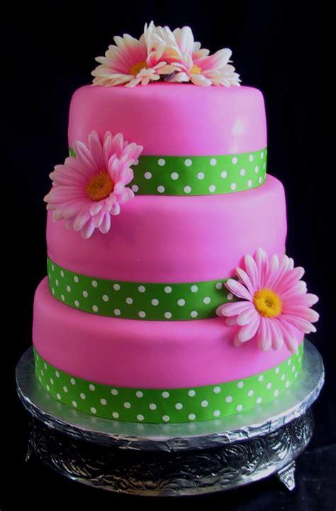 pink bridal shower cake ideas bridal shower pink gerber cake bardstown ky the
