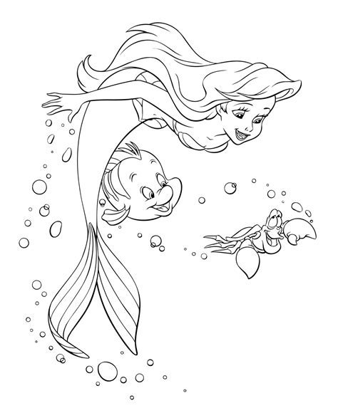 little mermaid castle coloring page ariel the little mermaid coloring pages for girls to print