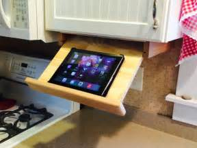 cabinet cookbook holder