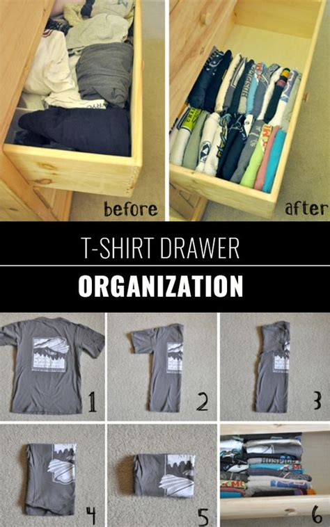 organizing shirts in closet closet organization homemade and kitchen drawer